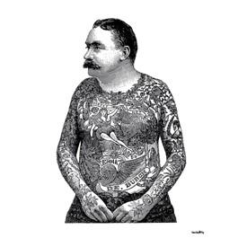 Tattooed torso 20x25