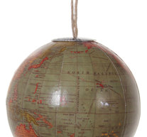 Glob hänge brun/röd xs