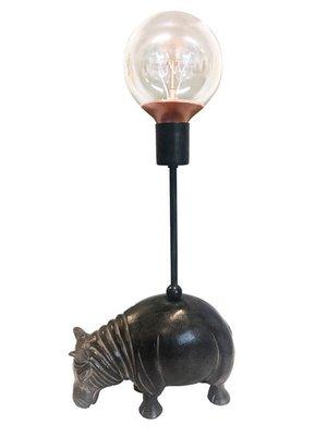 Flodhästlampa