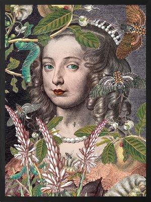 Queen Fleur 50x70