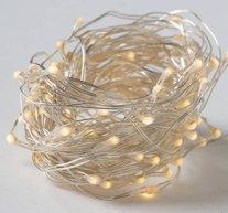 Ljusslinga Led Silver 80