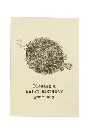 Blowing a happy Birthday