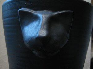 Kattkruka Svart Matt