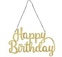 Skylt Happy Birthday